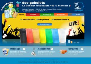 Page d'accueil eco-gobelets.com